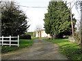 TM1998 : Entrance to New Crane's Farm by Adrian S Pye