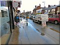 SJ9494 : Sleet on the Street by Gerald England