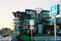 SZ1191 : Bournemouth: corner of St John's Road and Owls Road, Boscombe by Jonathan Hutchins