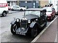 TQ3577 : Classic 1934 Riley, Camplin Street, New Cross by Chris Whippet