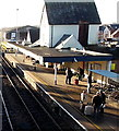 ST8126 : Waiting for the Waterloo train at Gillingham(Dorset) by Jaggery