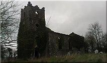 X1278 : Kinsalbeg Church by Hywel Williams