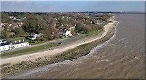 TA0225 : Hessle Foreshore from Humber Bridge by Chris Morgan