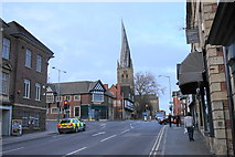 SK3871 : St Mary's Gate, Chesterfield by Bill Boaden