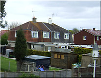 ST3359 : Houses on Coleridge Road by JThomas