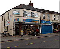 SU1585 : Salvation Army charity shop in Gorse Hill, Swindon by Jaggery