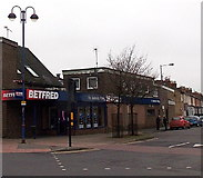 SU1585 : Betfred, Gorse Hill, Swindon by Jaggery