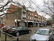 TL4658 : Dukes Court, Newmarket Road by Hugh Venables
