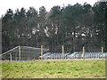TG2723 : Solar farm construction at RAF Coltishall by Evelyn Simak