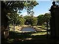 NZ2176 : Grove Pond at Blagdon Hall by Clive Nicholson