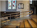 TQ2550 : St Mary's, Reigate: access ramp by Stephen Craven