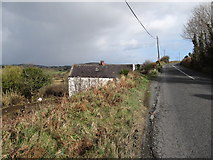 J0718 : Traditional cottage on the Co Louth side of the Border by Eric Jones
