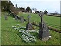 SD4491 : St Mary, Crosthwaite: churchyard (3) by Basher Eyre