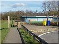 SU8870 : Westmorland park pavilion by Alan Hunt