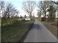 TM1176 : Entering Thrandeston on Mellis Road by Adrian Cable