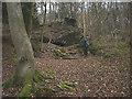 SD4179 : Ruined kiln, Lime Kiln Wood by Karl and Ali