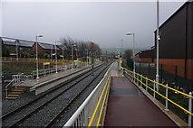 SD9311 : Newhey Metrolink Station by Bill Boaden