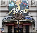 TQ2980 : Canopy, Criterion Theatre by Jim Osley