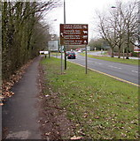 ST3091 : Visitor attractions in Cwmbran by Jaggery