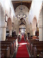 TL4943 : Interior of St Mary's Church, Ickleton by Marathon