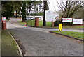 ST3091 : Entrance to Rougemont School and Rougemont Rainbows Nursery, Malpas, Newport by Jaggery