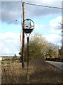 TM3271 : Ubbeston Village sign by Adrian Cable
