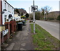 ST1281 : Do not park on the Main Road grass verge, Morganstown, Cardiff by Jaggery