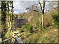 SJ8382 : Steps to Quarry Bank Mill by David Dixon