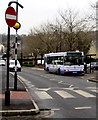 SN5803 : X13 bus for Swansea in Pontarddulais by Jaggery
