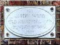 SJ8079 : Joseph Wood Memorial Plaque by David Dixon