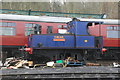 SK3899 : Elsecar Heritage Railway - Sentinel locomotive by Chris Allen