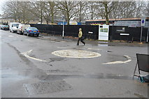 TL4658 : Roundabout, New St by N Chadwick