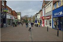 SJ9223 : Gaolgate Street, Stafford by Stephen McKay