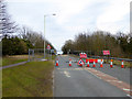 NZ2115 : Roadworks on the A67 by Oliver Dixon