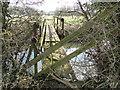 TM2160 : Unsafe bridge over the River Deben by Adrian S Pye
