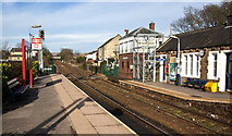 SD7213 : Bromley Cross Station by Ian Greig