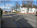 SP1386 : At the junction of Station Road with Yardley Fields Road by Richard Law