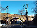 TQ2884 : Railway Bridge, Grafton Road, Kentish Town by Malc McDonald