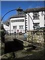 SX3173 : Churchyard gate, Linkinhorne by Derek Harper