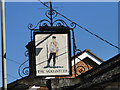 TM4462 : The Volunteer public house pub sign by Adrian S Pye