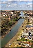 TF3244 : River Witham, Boston by David P Howard