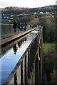 SJ2742 : Pontcysyllte aqueduct by Chris Allen