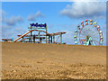 TF5763 : Amusement Park, Skegness by David P Howard