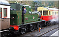 SJ2142 : Llangollen Station - a 1450 'sandwich' by Chris Allen
