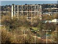 SD8333 : Burnley Gasometer by David Dixon