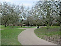 TQ2883 : Paths in Regent's Park by David Anstiss