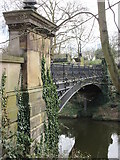 TQ2783 : Primrose Hill Canal Footbridge by David Anstiss