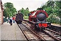 SD3787 : Lakeside railway station by Jonathan Hutchins