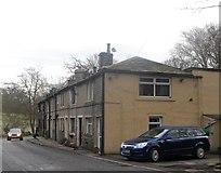 SE0421 : Terraced Row of Houses - Denton Bridge by Anthony Parkes