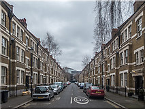 TQ3179 : Mitre Road, London SE1 by Christine Matthews